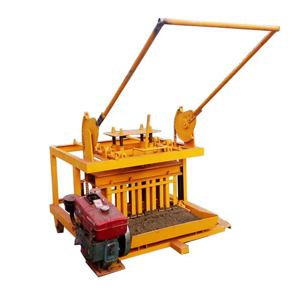 QMR4-45 Small Size Movable Brick Machine